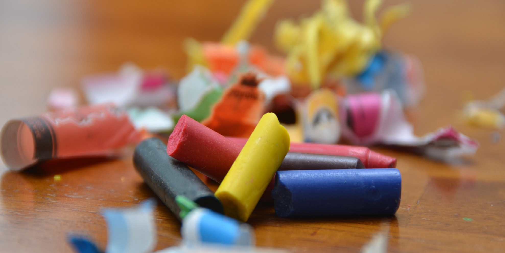 Broken crayons still color…