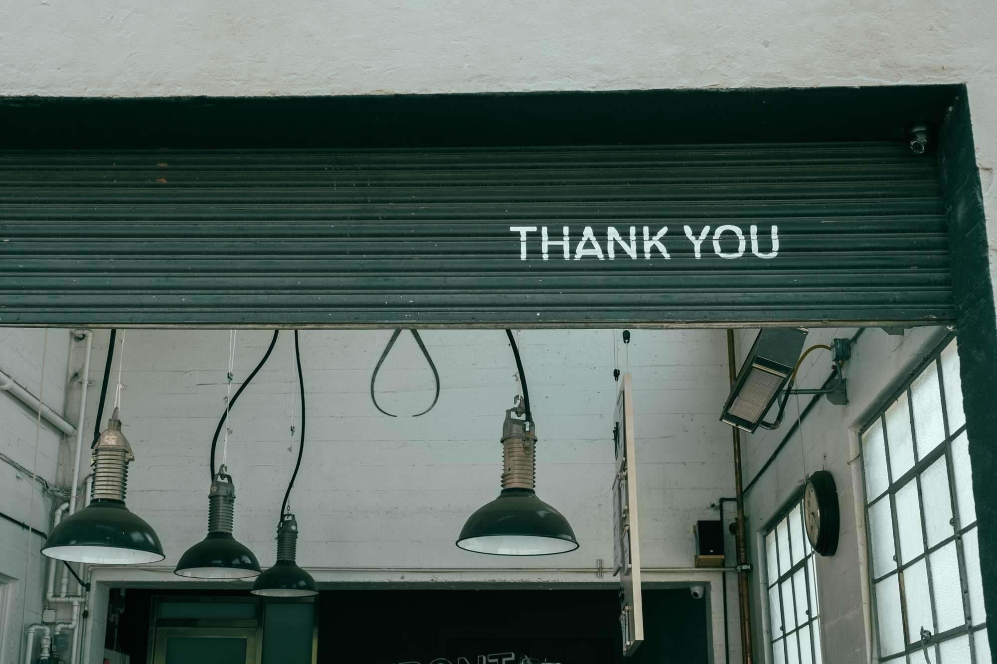 Dankbaar!