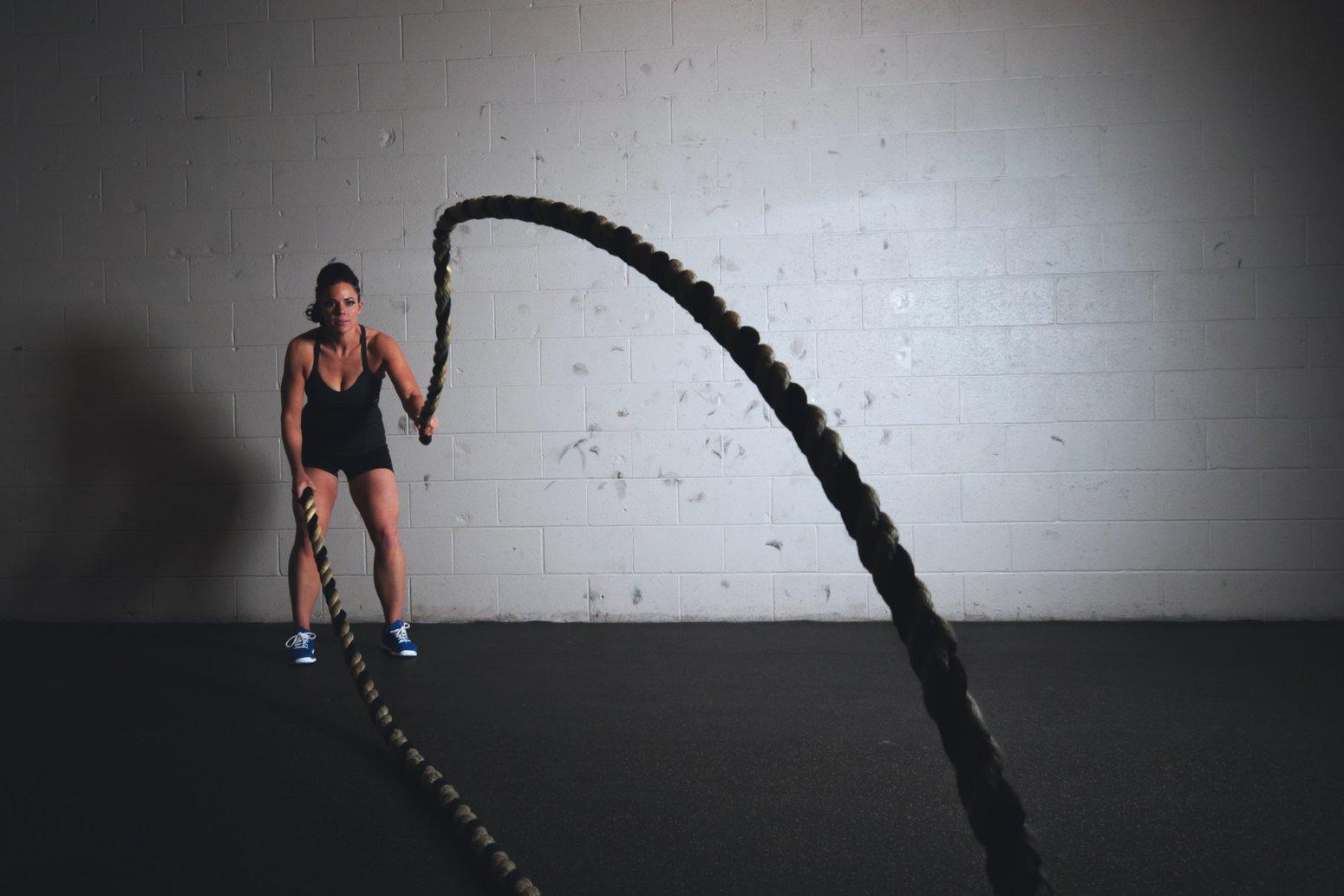 Accepteren door te sporten