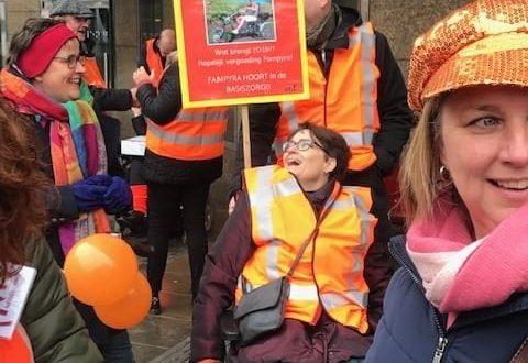 Machteld strijdt in Den Haag voor Fampyra