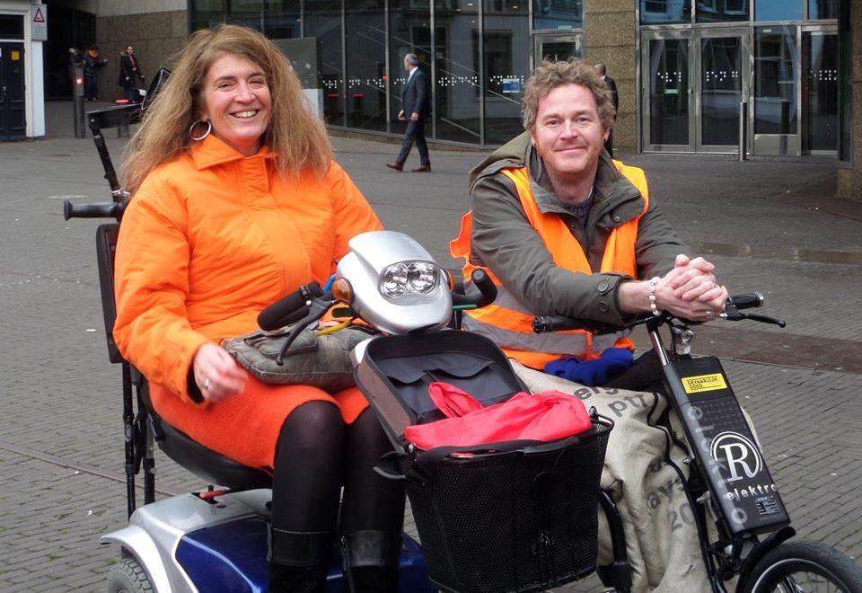 Fampyra strijdster Mariëtte in Den Haag