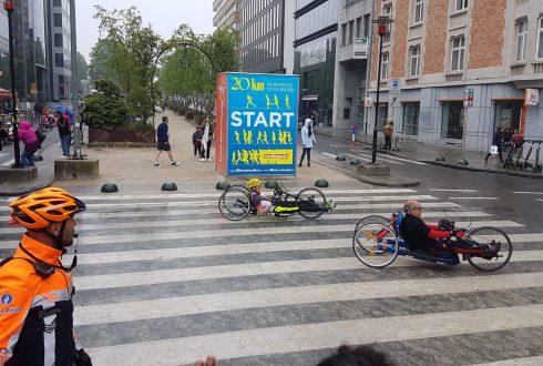 Handbiker Geert over zijn 20km van Brussel