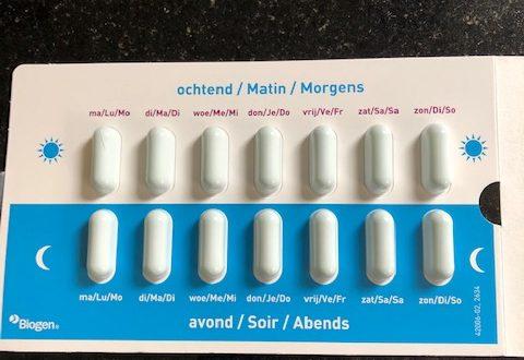 Tecfidera als medicatie