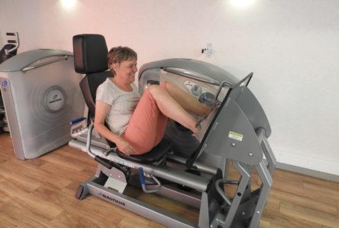 Fysiotherapie als vooruitgang