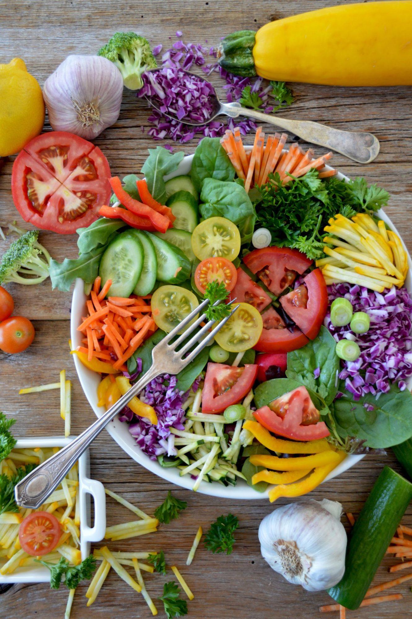Klaar met salades!