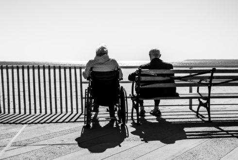 Waarom vind je het niet erg om in een rolstoel te komen?